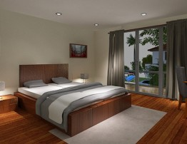 Town House bed room 1