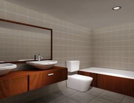 bath room townhouse